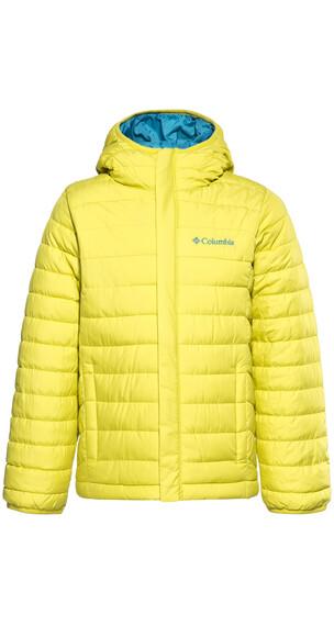 Columbia Powder Lite jas Kinderen geel